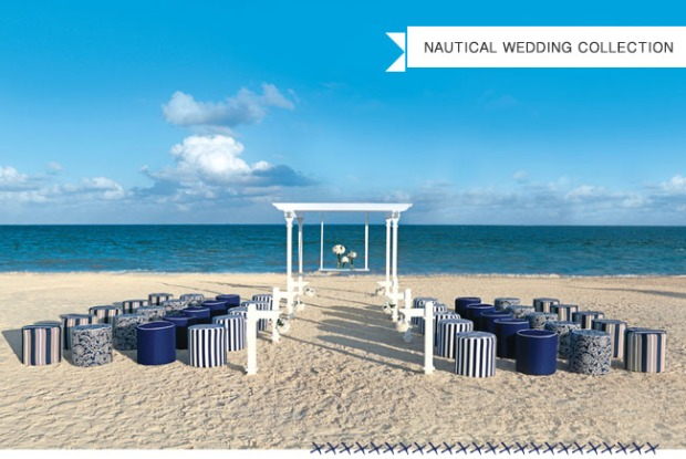 Colin Cowie, beach wedding, unique chairs