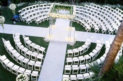 ceremony chairs, wedding